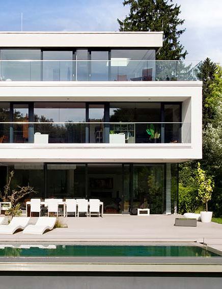 Architektenhaus Modernes Einfamilienhaus Bauen Wunschhaus